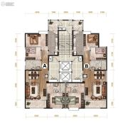 昆明广场2室2厅4卫294--310平方米户型图
