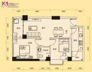 中航花园2室1厅1卫0平方米户型图