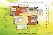 新嘉雅园3室2厅3卫136平方米户型图