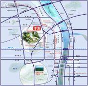 龙湖・湘风星城交通图