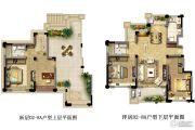 光明・中央公园3室2厅2卫145平方米户型图