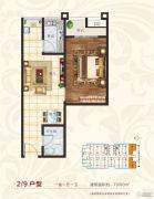 国宾府1室1厅1卫60--70平方米户型图