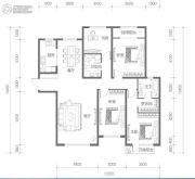 名都和景4室2厅2卫165平方米户型图