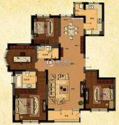 中建・御澜世家4室2厅2卫160平方米户型图