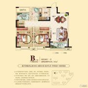 合肥铜冠花园2室2厅1卫88平方米户型图