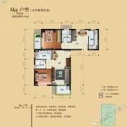骏景溪悦1室1厅1卫45平方米户型图