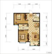 中交・香颂(廊坊)2室2厅1卫83平方米户型图