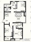 众美凤凰台意风3室2厅2卫0平方米户型图