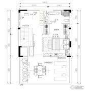 建业桂园180平方米户型图