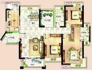 依岸康堤4室2厅2卫143平方米户型图