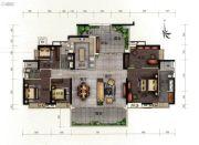 路劲天隽峰5室2厅3卫177平方米户型图
