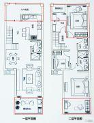 都市豪园4室3厅3卫112平方米户型图