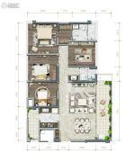 中粮珑悦锦云4室2厅2卫0平方米户型图