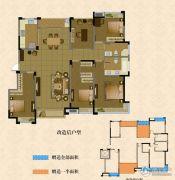南湖学府4室2厅2卫175平方米户型图