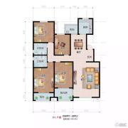 祥云岸芷汀兰4室2厅2卫193平方米户型图