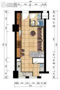 万宝城1室1厅1卫50平方米户型图