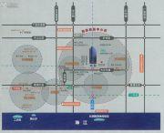 保利中誉广场交通图