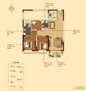 和昌・中央城邦3室2厅2卫101平方米户型图