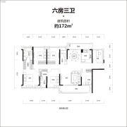 牧云溪谷6室2厅3卫172平方米户型图