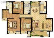 启迪协信・无锡科技城3室2厅2卫130平方米户型图