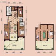 宝能水岸康城3室2厅2卫159平方米户型图