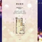 兴荣郡1室0厅0卫37平方米户型图