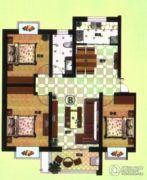 宝丽・阳光国际3室2厅1卫0平方米户型图