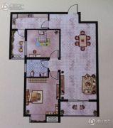 大地丽都2室2厅2卫98--99平方米户型图
