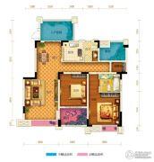 两江春城0室0厅0卫94平方米户型图