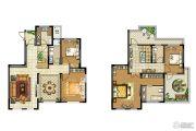 中电颐和府邸4室2厅3卫197平方米户型图