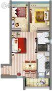 祈福缤纷汇2室2厅1卫0平方米户型图