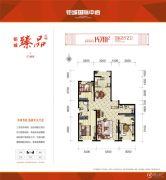 钜城国际中心3室2厅2卫0平方米户型图