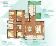 朗诗太湖绿郡4室2厅2卫195平方米户型图
