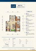 中航城・两河流域3室2厅2卫0平方米户型图