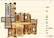 明秀庄园3室2厅2卫180平方米户型图