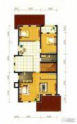 水静界3室1厅2卫420平方米户型图