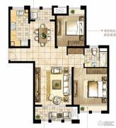 尼德兰花园2室2厅1卫98平方米户型图
