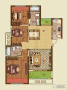 诚城・三英里3室2厅2卫117平方米户型图