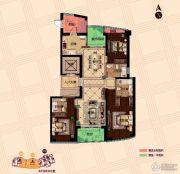 保利达江湾城3室2厅3卫167平方米户型图