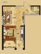 红星国际广场1室1厅1卫55平方米户型图