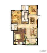 绿地峰云汇3室2厅1卫102平方米户型图