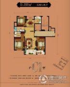 佳源名溪花苑3室2厅2卫137平方米户型图