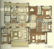 国宾1号4室2厅3卫195平方米户型图