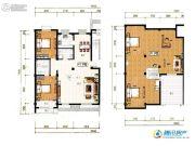祥和馨筑3室3厅3卫171平方米户型图