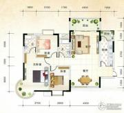 国际新城3室2厅2卫129平方米户型图