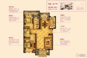 宇诚逸龙湾2室2厅2卫117--119平方米户型图