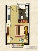 南昌恒大名都1室1厅0卫37平方米户型图