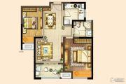 港龙新港城2室2厅1卫85平方米户型图