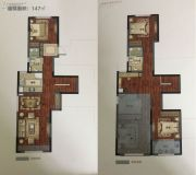 靖江龙馨园0室0厅0卫147平方米户型图
