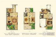 华德力公园壹号3室2厅2卫131--138平方米户型图